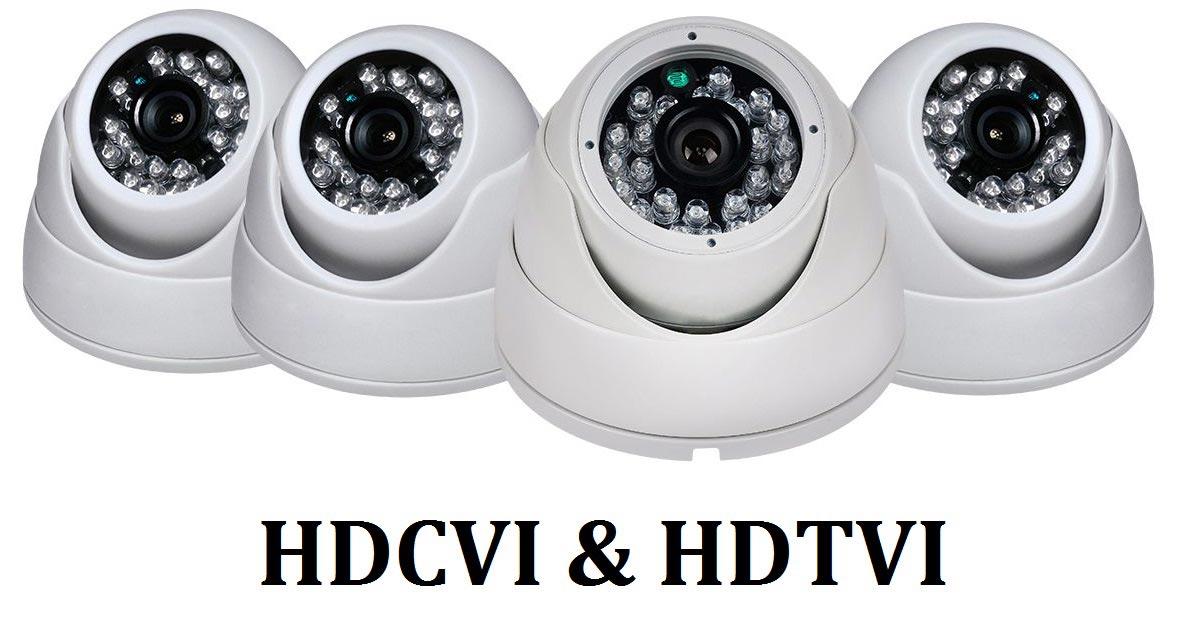 Vidéo analogique HDCVI & HDTV